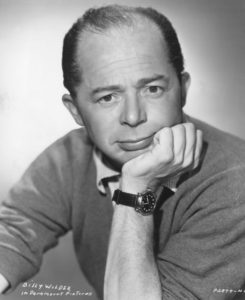 Paramount publicity photo of Billy Wilder, 1946. Photo courtesy of Los Angeles Public Library.
