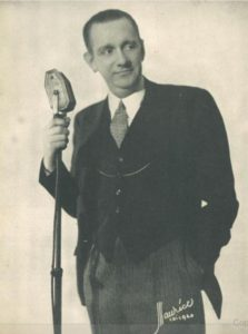 Nils Thor Granlund, in a 1942 photo from Billboard.
