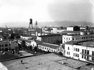 Paramount Pictures, 1937. Photo courtesy of the Los Angeles Public Library.